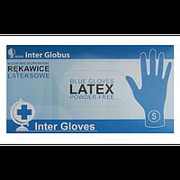 Амбулаторные перчатки Inter Globus латекс, непудренные (размер S), 50 шт