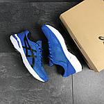 Мужские кроссовки Asics (сине-белые), фото 5