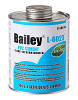 Клей для труб ПВХ Bailey 118 мл