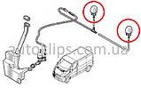 Форсунка омывателя лобового стекла Renault Trafic,Opel Vivaro, Nissan Primastar (2001 - 2014), фото 4