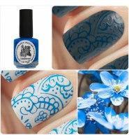 Краска для стемпинг-дизайна kaleidoskope st-15 голубой