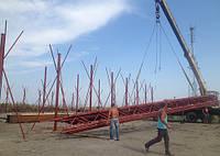 Строительство ангаров,зернохранилищ,накрытий