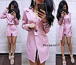 Женский стильный костюм: пиджак-трансформер и комбинезон (в расцветках), фото 5
