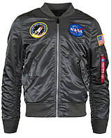 Ветровка L-2B NASA Flight Jacket Alpha Industries (gun metal)