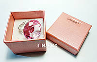 Кольцо для клея при наращивании ресниц Lilly Beaute, розовое