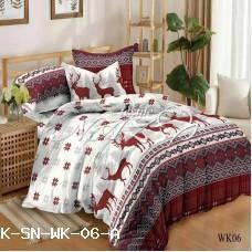 Комплект постельного белья САТИН Семейное