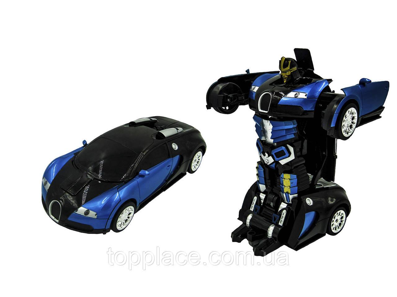 Радиоуправляемый трансформер 1:14 Bugatti Veyron Meizhi (RM101001130)