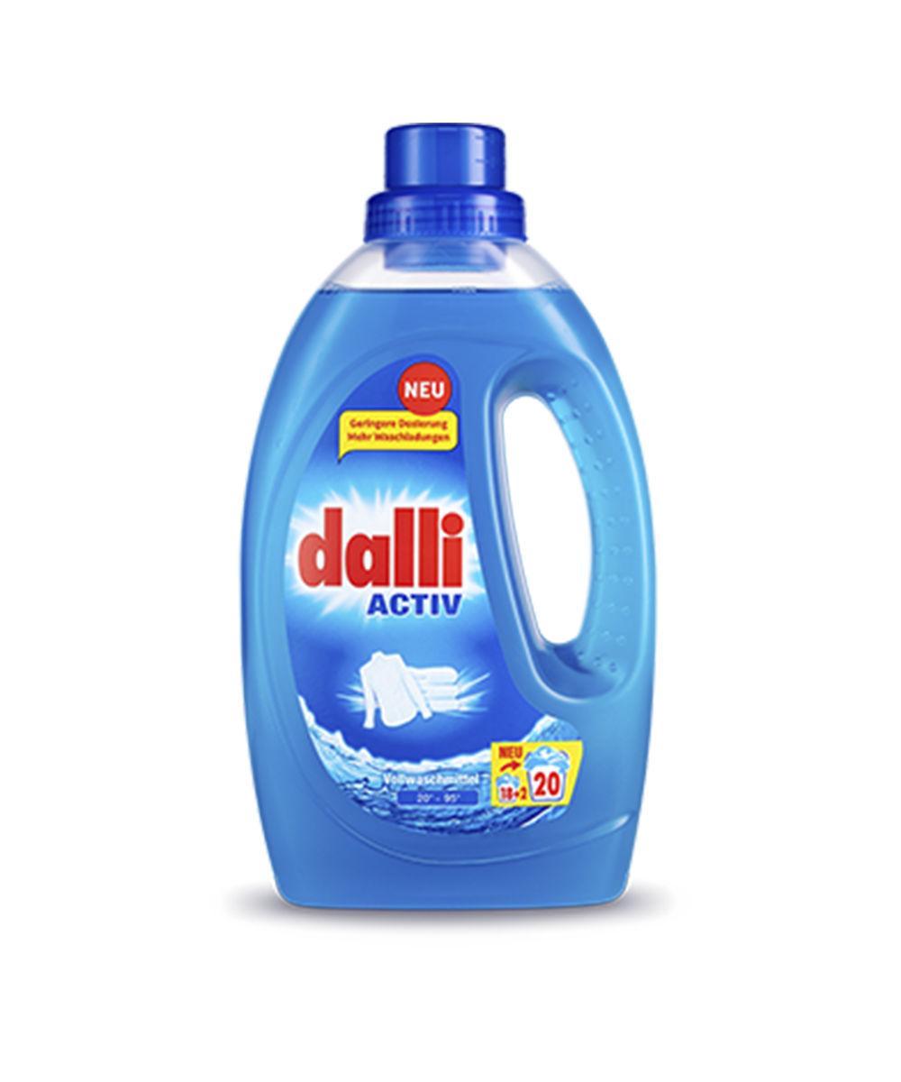 Гель для стирки Dalli Activ для белого белья, 1.1 л (20 стирок) 01116