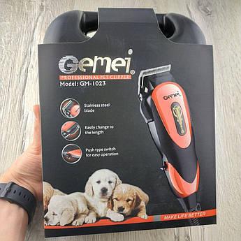 Машинка для стрижки собак і тварин Gemei gm-1023