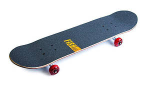 Скейтборд деревянный канадский клен для трюков Fish Skateboards - 1st 79см, фото 2