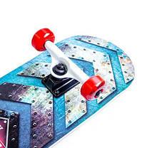 Скейтборд деревянный канадский клен для трюков Fish Skateboards - 1st 79см, фото 3