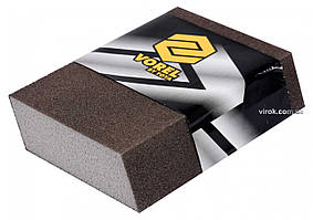 Губка шлифовальная ромбовидная VOREL Р80 111 х 73 х 25 мм
