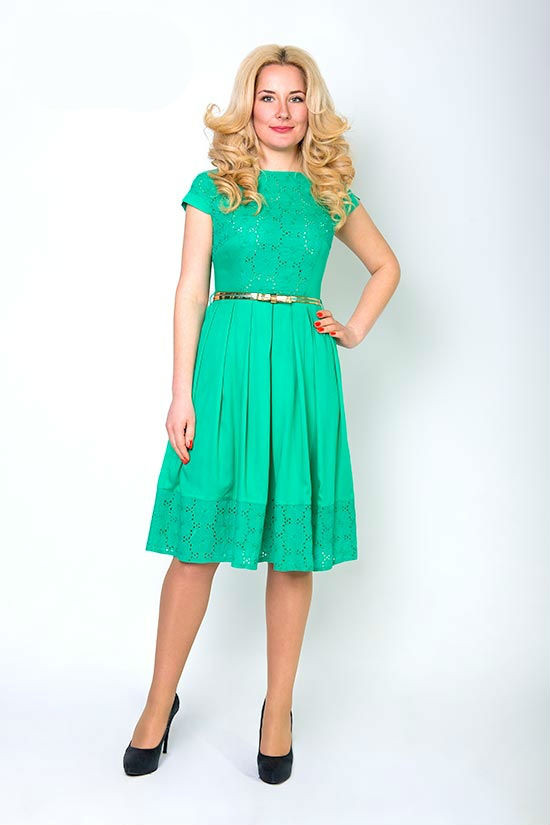 Платье Мэри, размеры 46,48,50,52
