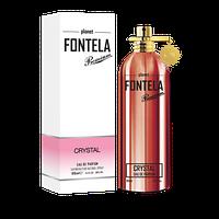 Парфюмированная вода для женщин Fontela EDP CRYSTAL, 100 мл