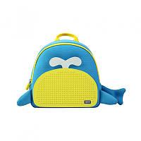 Рюкзак Upixel Blue Whale, голубо-желтый (WY-A030O)