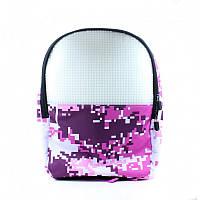 Рюкзак Upixel Camouflage, женский, розово-белый (WY-A021B)