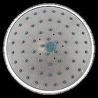 Лейка круглая, потолочная для душевого бокса диаметром 160 мм. ( L-160\02 ) со сьемным штоком, пластиковая.