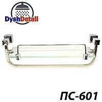 Полка на 2-а отверстия 350 мм ( Одно стекло и держатель полотенца ) ПС601