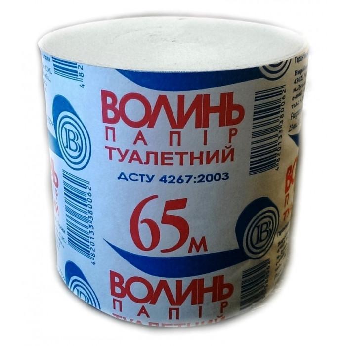 Туалетная бумага Волынь, 65 м