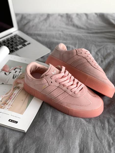 """Кросівки Adidas SAMBAROSE """"Рожеві"""""""