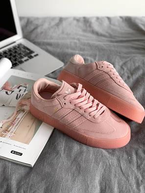 """Кросівки Adidas SAMBAROSE """"Рожеві"""", фото 2"""