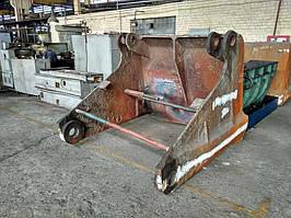 Выполнение работы по восстановлению после поломки или износа челюсти грейферного ковша 4