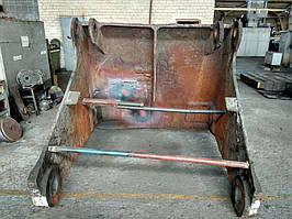 Выполнение работы по восстановлению после поломки или износа челюсти грейферного ковша 6