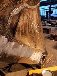 Выполнение работы по восстановлению после поломки или износа челюсти грейферного ковша 7