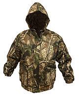 Куртка камуфляжная с капюшоном (хлопок), размер 54-56