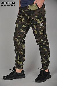 Мужские брюки карго Cargo REXTIM   Спортивные Штаны    Чоловічі штани карго REXTIM (Камуфляж)