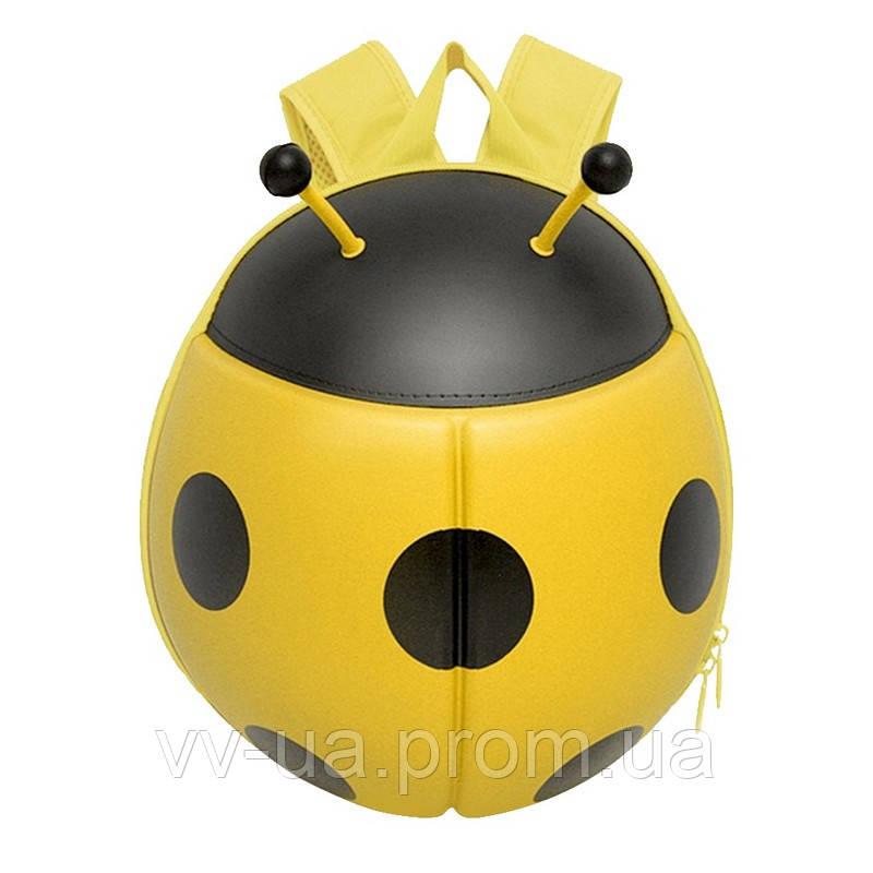 Рюкзак детский Supercute Божья коровка, желтый (SF032-b)