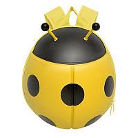 Рюкзак детский Supercute Божья коровка, желтый (SF032-b), фото 1