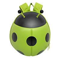 Рюкзак детский Supercute Божья коровка, зеленый (SF032-c)
