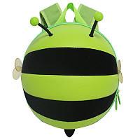 Рюкзак детский Supercute Пчелка, зеленый (SF034-b)