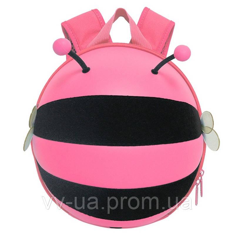 Рюкзак детский Supercute Пчелка, розовый (SF034 d) (SF034-d)