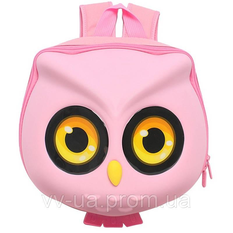 Рюкзак детский Supercute Сова, розовый (SF040 b) (SF040-b)