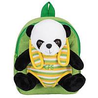 Рюкзак дошкольный с игрушкой Cool For School 304 Panda (CF86064)