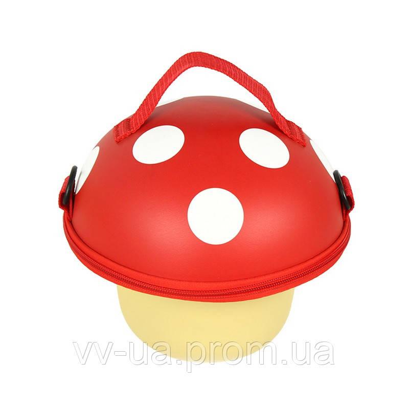 Сумка детская Supercute Грибочек, для девочек, красный (SF029-a)
