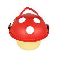 Сумка детская Supercute Грибочек, для девочек, красный (SF029-a), фото 1