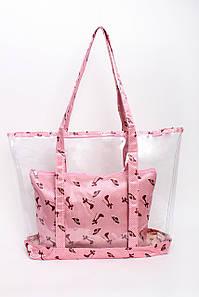 Шоппинг сумка Наоми розовая