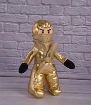 Мягкая игрушка Золотой Ниндзя, Лего Ниндзяго