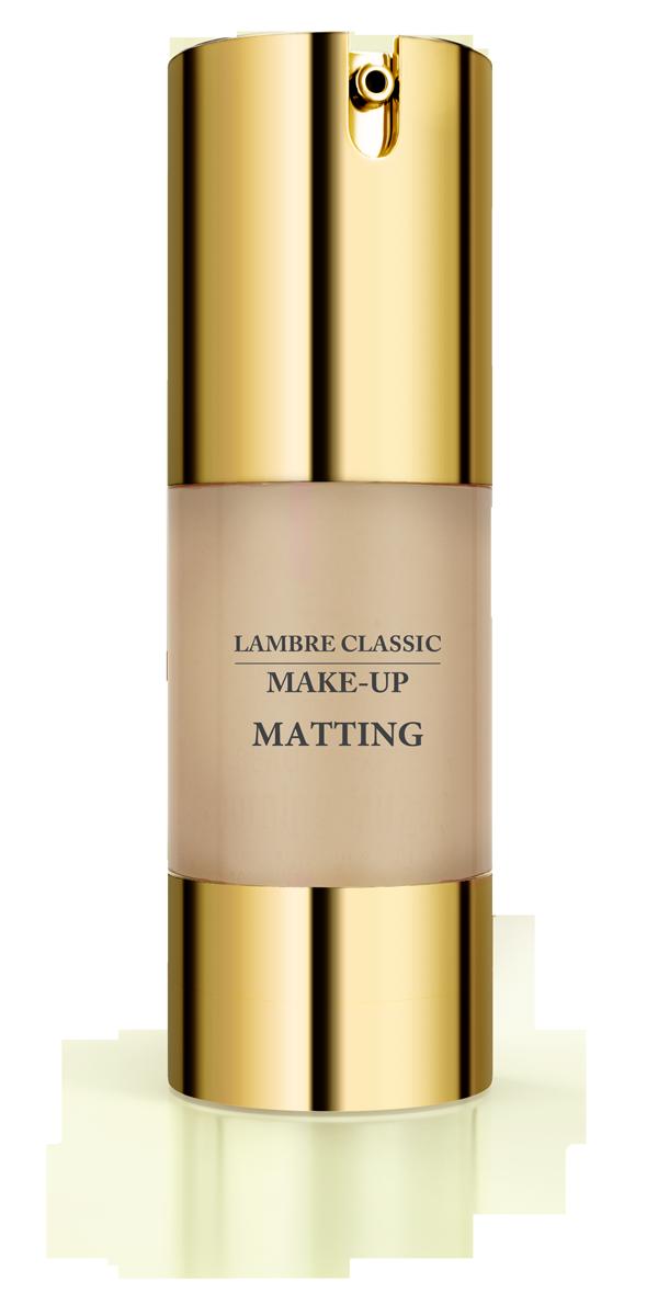 Матирующая тональная основа MATTING MAKE-UP Gold №6 Золотистый загар 30 мл