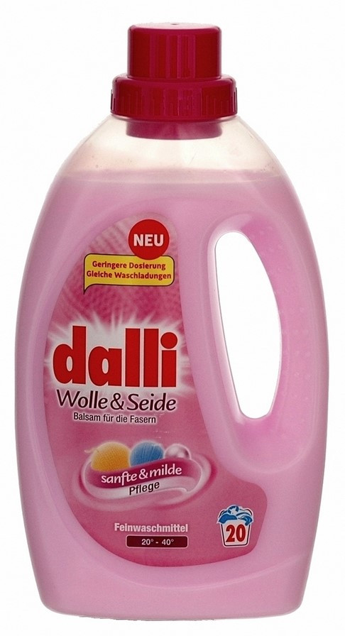 Гель для стирки Dalli Wolle & Seide для шерсти и шелка, 1.1 л (20 стирок) 01117