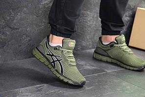Чоловічі кросівки Asics Gel-Quantum 360 (темно-зелені)