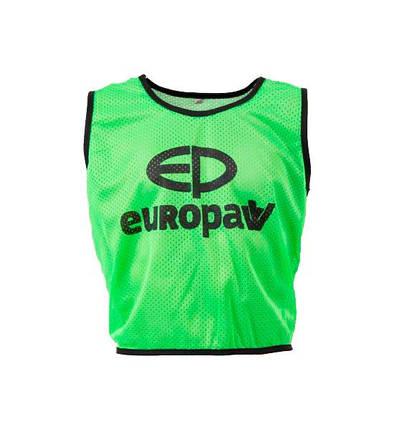 Манишка Europaw logo 3\4 зеленая, фото 2