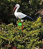 Садовая фигура Семья садовых аистов №12, фото 4