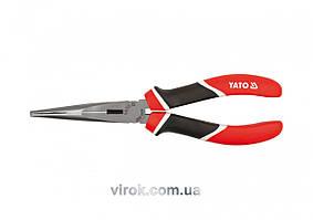 Щипцы удлиненные YATO плоские l=160 мм