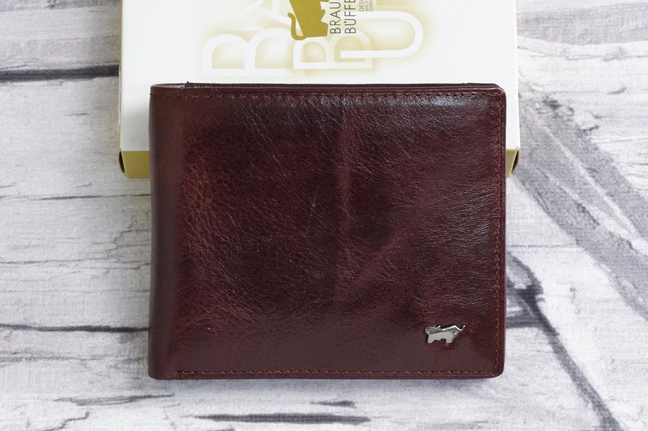 Кошелек кожаный без клапана Braun Buffel BR-687 brown