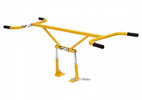 Захват ручний повздовжній VOREL для бруківки, бордюрів, з регуляцією, ширина захвату- 75-100 см