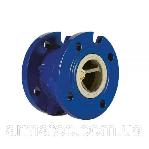 Клапан обратный фланцевый подпружиненный Ру16 Ду80